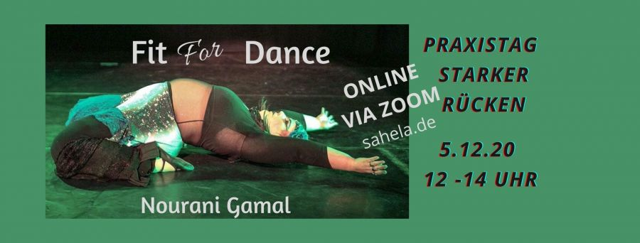 5.12.2020 Fit for dance ONLINE - Praxistag
